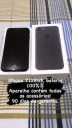 iPhone 7 128GB, com todos os acessórios !