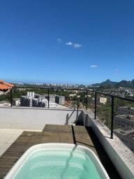 Cobertura para Venda em Rio de Janeiro, Pechincha, 3 dormitórios, 1 suíte, 3 banheiros, 1