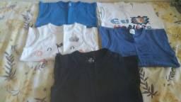 Camisetas infantis