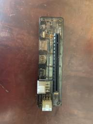 Adaptador de placa de vídeo para notebook, conexão simples na placa de Wi-Fi