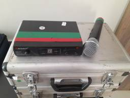 Microfone Karsect KRU-161 UHF