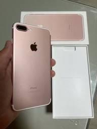 iPhone 7 PLUS 32GB Rose / Em Otimo Estado