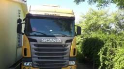 Caminhão Scania R 470 traçado - 2010
