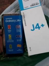 Celular novo na caixa J4+ Samsung