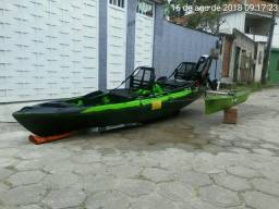Caiaque Caiman hidro 135 - 2018