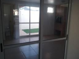 Porta de Correr Alumínio Branco - 2 Folhas com Vidro