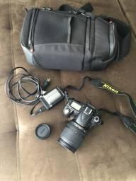 Usado Nikon D90 Com Lente 18-105mm