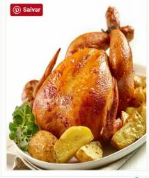 Almoço domingo é frango de maquina. menino deus $30