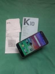 LG K10 2017 32GB 4G+ dual chip zerado com nota fiscal