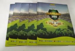 Álbum campeonato brasileiro 2015 vazio