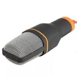 Microfone Condensador com Tripé de alta qualidade x 12x R$ 13,06