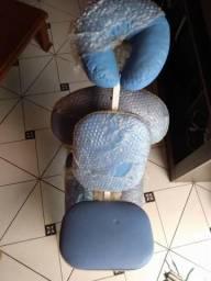 Cadeira Quick Massagem Corvim Ramsor (AZUL)