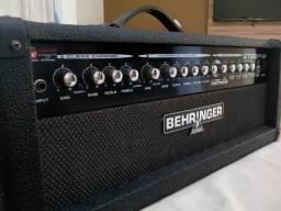 Amplificador Cabeçote Behringer Vt100fxh - Oportunidade!!