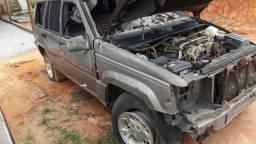 Sucata Cherokee v8 4x4 ano 98