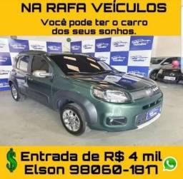 OFERTAS IMPERDÍVEIS!!!!! FIAT UNO WAY 1.0 ANO 2015 FALAR COM ELSON  - 2015