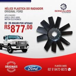 HÉLICE PLÁSTICA DO RADIADOR ORIGINAL FORD