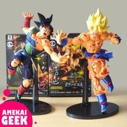 Action Figure Goku Super Sayajin e Bardock Banpresto 23cm