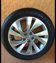 Rodas 16 polo/virtus com pneus zerados!!