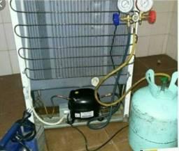 Cargas de gas geladeiras e freezer