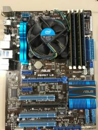 Kit i7 2600+ ASUS P8P67LE + 16gb DDR3