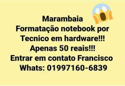 Formatacao notebooks