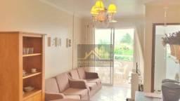 Ótimo Apartamento com 01 dormitório e linda vista do mar à venda, 46 m² por R$ 340.000 - C