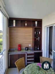 Apartamento 3 Dorms, Suíte, Sacada Gourmet, 2 Vagas, Área útil: 80m²