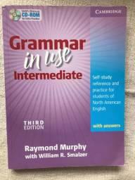 Livro Grammar in Use Intermediate Cambridge