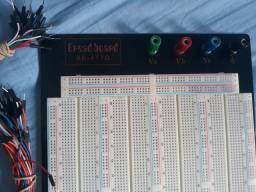 Protoboard 3220 furos - Bread Board + Jumpers