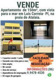 Apartamento com vista para o Mar - Luís Correia Piauí