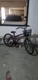 Vendo - Bicicleta Caloi 500, Aro 26, Alumínio, 21V, Roxa