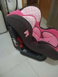 Cadeira Para Automóvel Team Tex Disney Primo Minnie - Até 25kg - Rosa