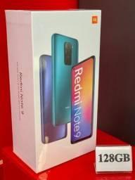Xiaomi Redmi Note 9 4GB + 128GB Grey - Produto Novo, Lacrado e com Garantia