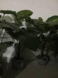 Plantas artificiais 8 unidades