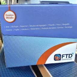 6 BOX Livros FTD 1° Ano Ensino Médio Completos