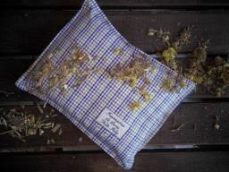 Travesseiro Aromático de Ervas.Noite Feliz - 100% Ervas