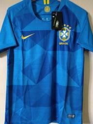 Camisa seleção brasileira visitante 2019