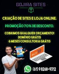 Site em promoção