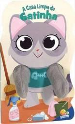 Animais Dedoches: A Casa Limpa da Gatinha