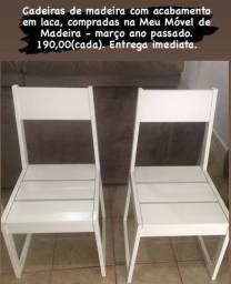 Cadeiras de madeira Meu Móvel de Madeira
