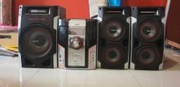 Aparelho de som Philips 600 wats rms