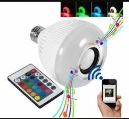 Lâmpada led colorida luminária Bluetooth controle aceito cartão de débito e crédito