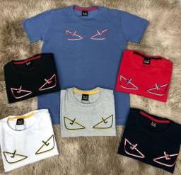 Camiseta malha peruana