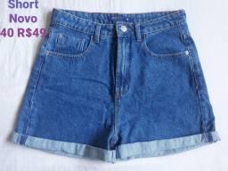 Shorts Jeans Novos e Usados 36/38/40