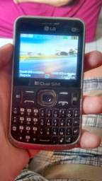 vendo celular  de Butão que  pega Wifi LG por  30 R$
