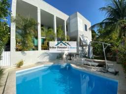 Luxuosa Casa 4 Suítes Vilas do Atlântico Condomínio Fechado