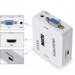 Conversor VGA para HDMI -NOVO