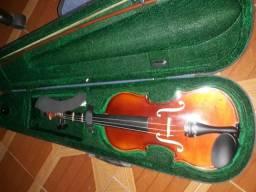 Violino 3/4 completo na caixa