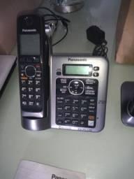 Vendo telefone Panasonic 5 aparelhos bluetooth
