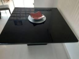 Mesa de jantar quatro lugares luxo, fino acabamento